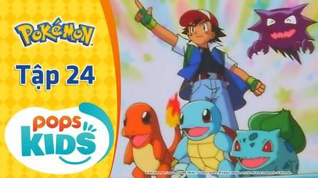 Pokémon S1 - Tập 24: Hệ ma và hệ siêu linh