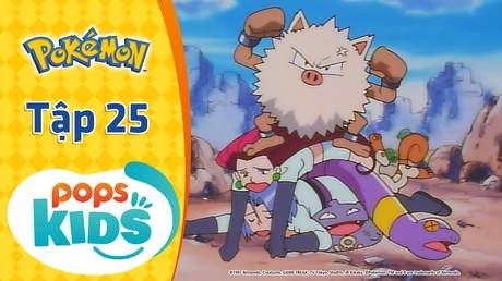 Pokémon S1 - Tập 25: Đừng giận nhé, Okorizaru