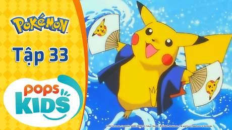 Pokémon S1 - Tập 33: Cuộc đua Pokémon lửa