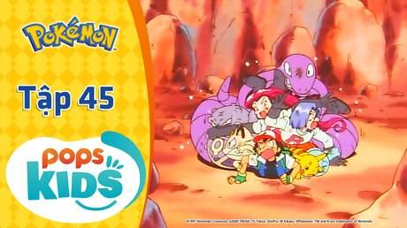 Pokémon S1 - Tập 45: Pokémon hoá thạch tái sinh