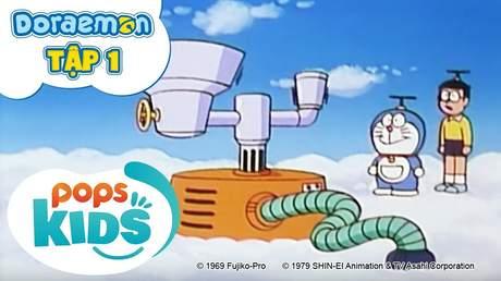 Doraemon S1 - Tập 1: Bình chứa gas làm đông mây