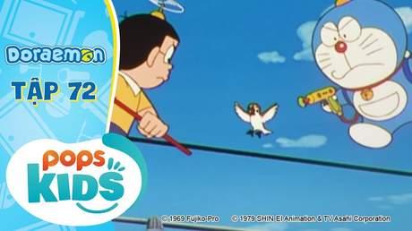 Doraemon S2 - Tập 72: Chú chim xanh may mắn