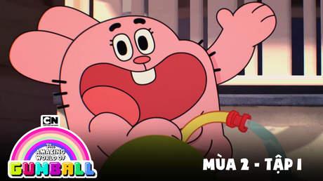 Gumball S2 - Tập 1: Chàng hiệp sĩ