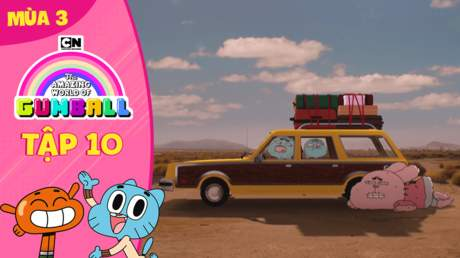 Gumball S3 - Tập 10: Kỳ nghỉ