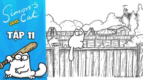 Simon's cat 2015 - Tập 11: What does your cat do beyond the fence?