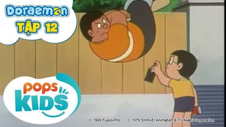 Doraemon S1 - Tập 12: Chất dính trên không