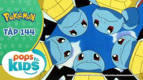 Pokémon S3 - Tập 144: Cháy lên đội rùa Zenigame! Như ngọn lửa