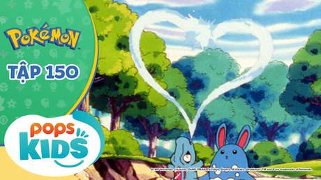 Pokémon S3 - Tập 150: Những bước nhảy tình yêu của Waninoko