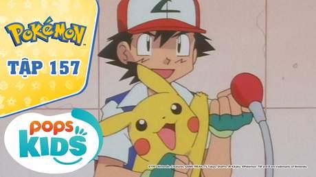 Pokémon S4 - Tập 157: Trận đấu ở tháp Radio vượt không gian và thời gian