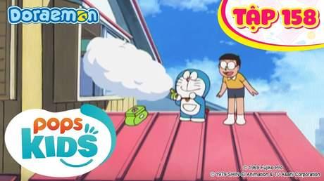 Doraemon S4 - Tập 158: Bảo bối cần câu bắt mây