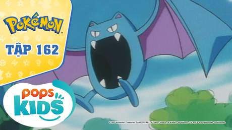 Pokémon S4 - Tập 162: Lâu đài của Zubat - Mê cung nguy hiểm