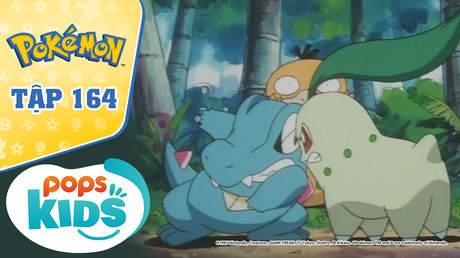 Pokémon S4 - Tập 164: Bộ 3 rừng nhiệt đới - Trận chiến ở suối nước nóng