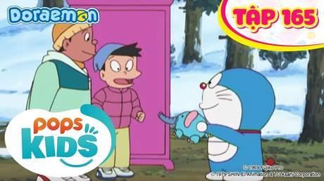 Doraemon S4 - Tập 165: Chú voi hút tuyết