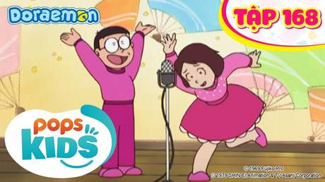 Doraemon S4 - Tập 168: Danh hài Manzai