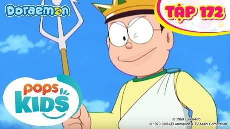 Doraemon S4 - Tập 172: Bộ đồ thần biển Poisedon