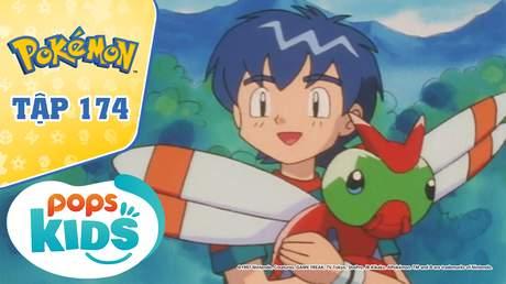 Pokémon S4 - Tập 174: Vỗ cánh đi Yanyanma! Hướng tới bầu trời ngày mai