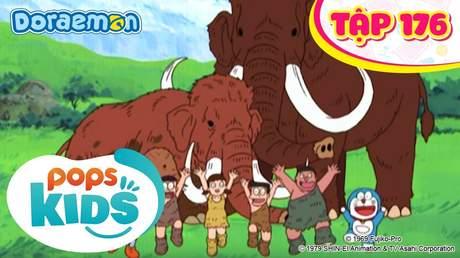 Doraemon S4 - Tập 176: Hành trình xem voi Ma Mút