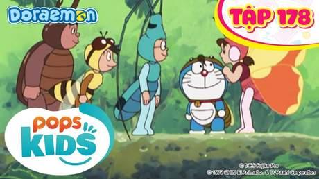 Doraemon S4 - Tập 178: Đồ hóa thành côn trùng