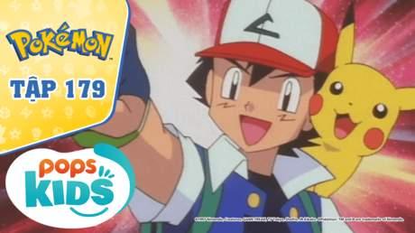 Pokémon S4 - Tập 179: Nhà thi đấu Enju - Trận chiến hệ ma