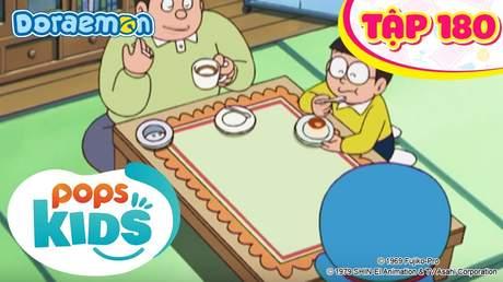 Doraemon S4 - Tập 180: Khăn trải bàn ẩm thực theo yêu cầu