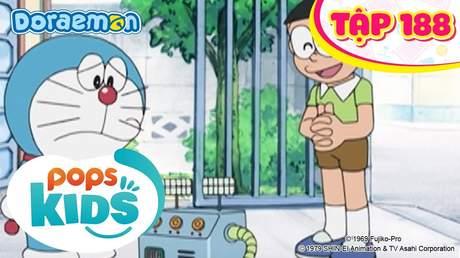 Doraemon S4 - Tập 188: Máy tạo dao động sóng âm thanh