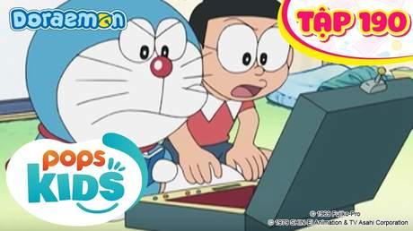 Doraemon S4 - Tập 190: Chiến lược do thám bí mật