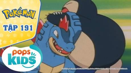 Pokémon S4 - Tập 191: Ordile và Kamex đấu sumo
