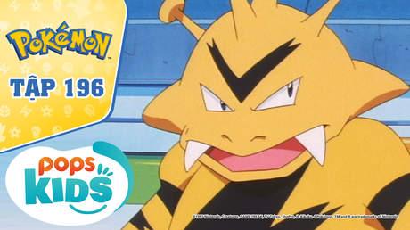 Pokémon S4 - Tập 196: Tạm biệt Chicorita - Mê cung điện