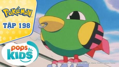 Pokémon S4 - Tập 198: Naty biết bói toán - Lời tiên tri thần bí về tương lai