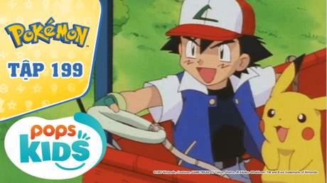 Pokémon S4 - Tập 199: Cuộc đua khinh khí cầu - Pokémon vượt qua bão tố