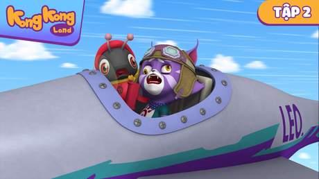 Kong Kong land - Tập 2: Cuộc chiến giữa các chú chó