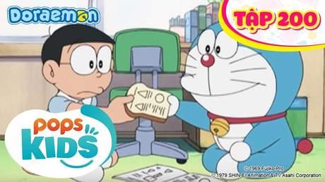 Doraemon S4 - Tập 200: Kéo cắt bóng