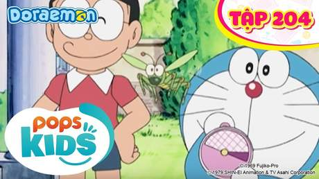 Doraemon S4 - Tập 204: Châu chấu hối lỗi