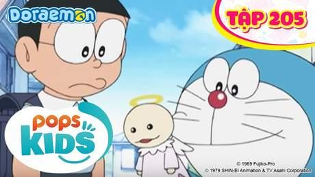 Doraemon S4 - Tập 205: Thiên sứ chỉ đường
