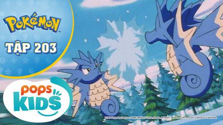 Pokémon S5 - Tập 203: Y tá Joy không thích Pokémon nước - Sự nổi giận của Kasumi