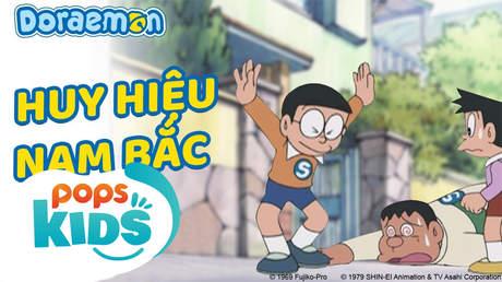 Doraemon S5 - Tập 213: Huy hiệu Nam Bắc