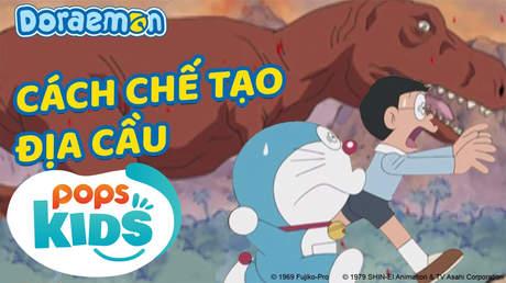 Doraemon S5 - Tập 217: Cách chế tạo địa cầu