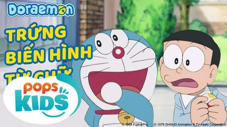 Doraemon S5 - Tập 221: Trứng biến hình từ chữ