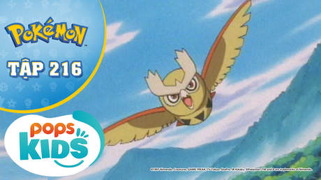 Pokémon S5 - Tập 216: Truyền thuyết về cánh lông vũ màu bạc