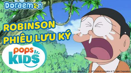 Doraemon S5 - Tập 233: Robinson phiêu lưu ký