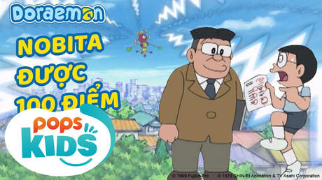 Doraemon S5 - Tập 240: Nobita được 100 điểm