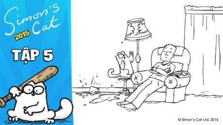 Simon's cat 2015 - Tập 5: Fly guy