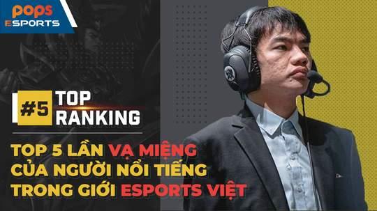 Top 5 lần vạ miệng của người nổi tiếng trong giới eSports: Tinikun, PewPew, Độ Mixi