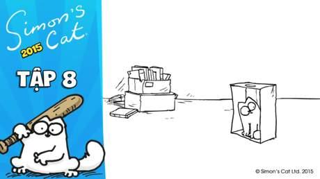 Simon's cat 2015 - Tập 8: The box