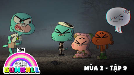 Gumball S2 - Tập 9: Halloween