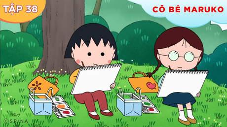Cô bé Maruko S1 - Tập 38: Maruko vẽ tranh dã ngoại