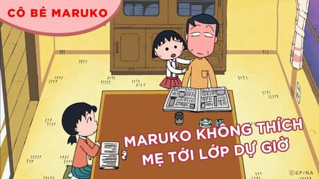 Cô bé Maruko - Tập 39: Maruko không thích mẹ tới lớp dự giờ