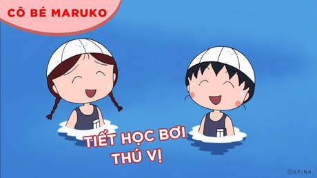 Cô bé Maruko - Tập 48: Tiết học bơi thú vị