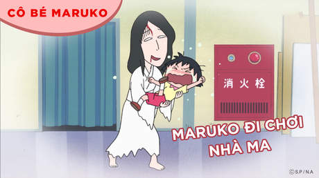 Cô bé Maruko - Tập 52: Maruko đi chơi nhà ma
