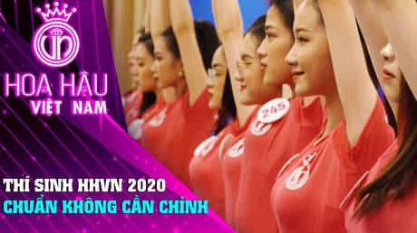 Đồng Hành Cùng HHVN 2020 - Tập 9: Thí sinh HHVN 2020 chuẩn không cần chỉnh